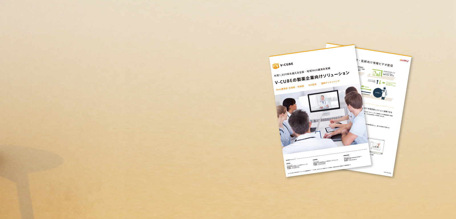 医薬品製造業 V-CUBEサービス導入事例